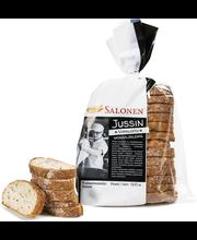 Perheleipuri Salonen Jussin viipaloitu moniviljaleipä 500 g moniviljaleipä, viipaloitu