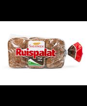 Perheleipuri Salonen Ruispalat 9 kpl 500g halkaistu ruisleipä