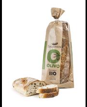 Perheleipuri Salonen Olivo 330 g oliivilla maustettu vehnäleipä