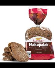 Perheleipuri Salonen Makupalat 6 kpl pss 420g ruissekaleipä, halkaistu