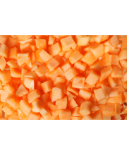 Fresh 1,2kg Cantaloupe meloni kuutio 10mm
