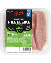Atria 480g Naturel Kalkkunan Fileeleike