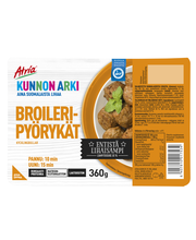 Atria Kunnon Arki 360g Broileripyörykät