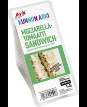 Atria Kunnon Arki 140g Mozzarella-tomaatti Sandwich