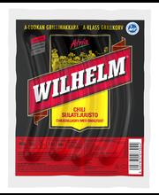 Atria Wilhelm 400g Chili-sulatejuusto Grillimakkara