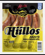 Atria Hiillos 400g Juustogrillimakkara