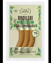 Jyväbroiler 200g Feta-pinaatti Grillimakkara