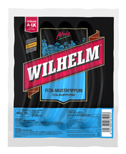 Atria Wilhelm 400g Feta-mustapippuri Grillimakkara