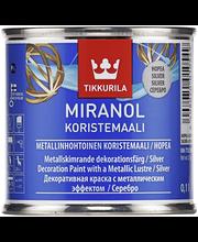 Tikkurila Miranol Koristemaali Ph 0,1l Hopea