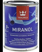 Alkydimaali Tikkurila Miranol 0202 TK 1 l, musta