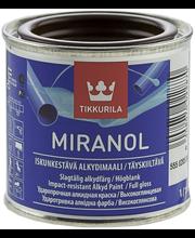 Alkydimaali Tikkurila Miranol 0,1 l, suklaanruskea