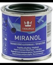 Alkydimaali Tikkurila Miranol 0,1 l, pullonvihreä