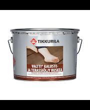 Tikkurila Valtti Kaluste- Ja Terassiöljy 9l Ruskea