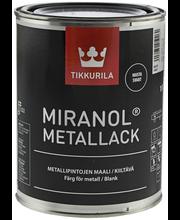 Tikkurila Miranol Metallack 1l Musta