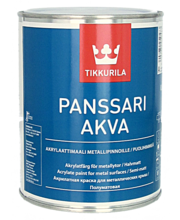 Tikkurila Panssari Akva A 0,9l Peltikattomaali
