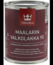 Tikkurila Maalarin Valkolakka 90 0,9l Kiiltävä