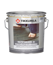 Tikkurila Valtti Kaluste- Ja Terassiöljy 2,7l Kelo