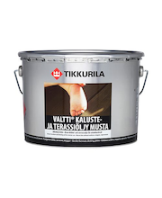 Tikkurila Valtti Kaluste- Ja Terassiöljy 9l Musta