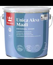 Tikkurila Unica Akva A 2,7l Ovi- Ja Ikkunamaali