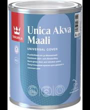Tikkurila Unica Akva C 0,9l Ovi- Ja Ikkunamaali