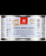 Tikkurila Unica Akva ovi- ja ikkunalakka  Epl 0,225l