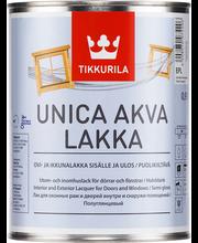 Tikkurila Unica Akva ovi- ja ikkunalakka  Epl 0,9l