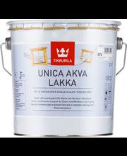 Tikkurila Unica Akva ovi- ja ikkunalakka  Epl 2,7l