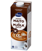 Valio kahvimaito 1 l laktoositon UHT