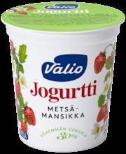 Valiojogurtti 200 g metsämansikka -30 % sokeria HYLA