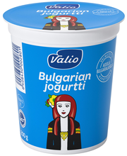 Valio bulgarian jogurt...