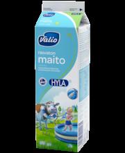 Valio rasvaton maito 1 l HYLA pastöroitu