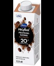 Valio PROfeel proteiinijuoma maitokahvi 2,5 dl UHT laktoositon