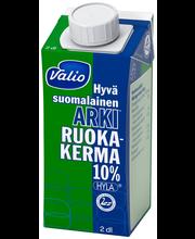 Valio Hyvä suomalainen Arki ruokakerma 10 % 2 dl UHT HYLA