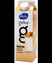 Valio Gefilus Kefir juotava välipala 1 kg persikka laktoositon