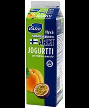 Valio Hyvä suomalainen Arki jogurtti 1 kg persikka-passion