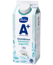 Valio A+ luonnonjogurtti 750 g täyteläinen laktoositon