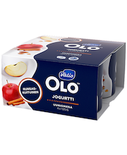 Valio OLO jogurtti 4x125 g uuniomena laktoositon