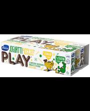 Valio Play jogurtti 8x125 g banaani/päärynä laktoositon