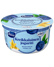 Valio kreikkalainen jogurtti 150 g mustikka-vanilja laktoositon