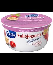 Valiojogurtti Rahkainen 150 g vadelma-passion HYLA
