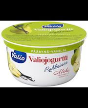 Valiojogurtti Rahkainen 150 g päärynä-vanilja HYLA