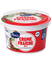Valio Eila kevyt crème fraîche 18 % 200 g laktoositon