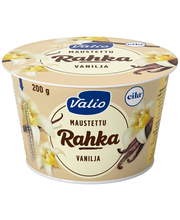 Valio maustettu rahka 200 g vanilja laktoositon