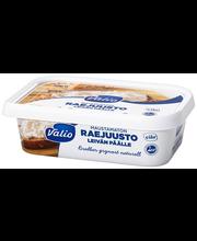 Valio raejuusto leivän päälle maustamaton 220 g laktoositon