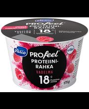Valio PROfeel proteiinirahka 175 g vadelma laktoositon
