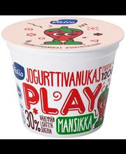 Valio Play jogurttivanukas 120 g mansikka laktoositon