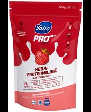 Valio PROfeel heraproteiinilisä 600 g mansikkainen laktoositon