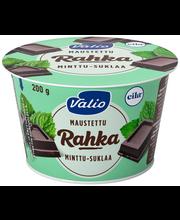 Valio maustettu rahka 200 g minttu-suklaa laktoositon