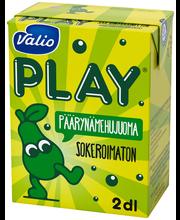 Valio Play päärynämehujuoma 2 dl sokeroimaton