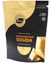 Valio Juustomestarin e150 g vahvempi gouda juustoraaste